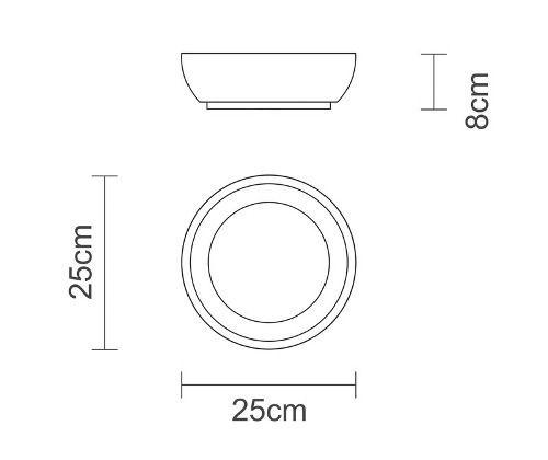 Saladeira Tramontina Antibacteriana 25cm Oferta 10400/100
