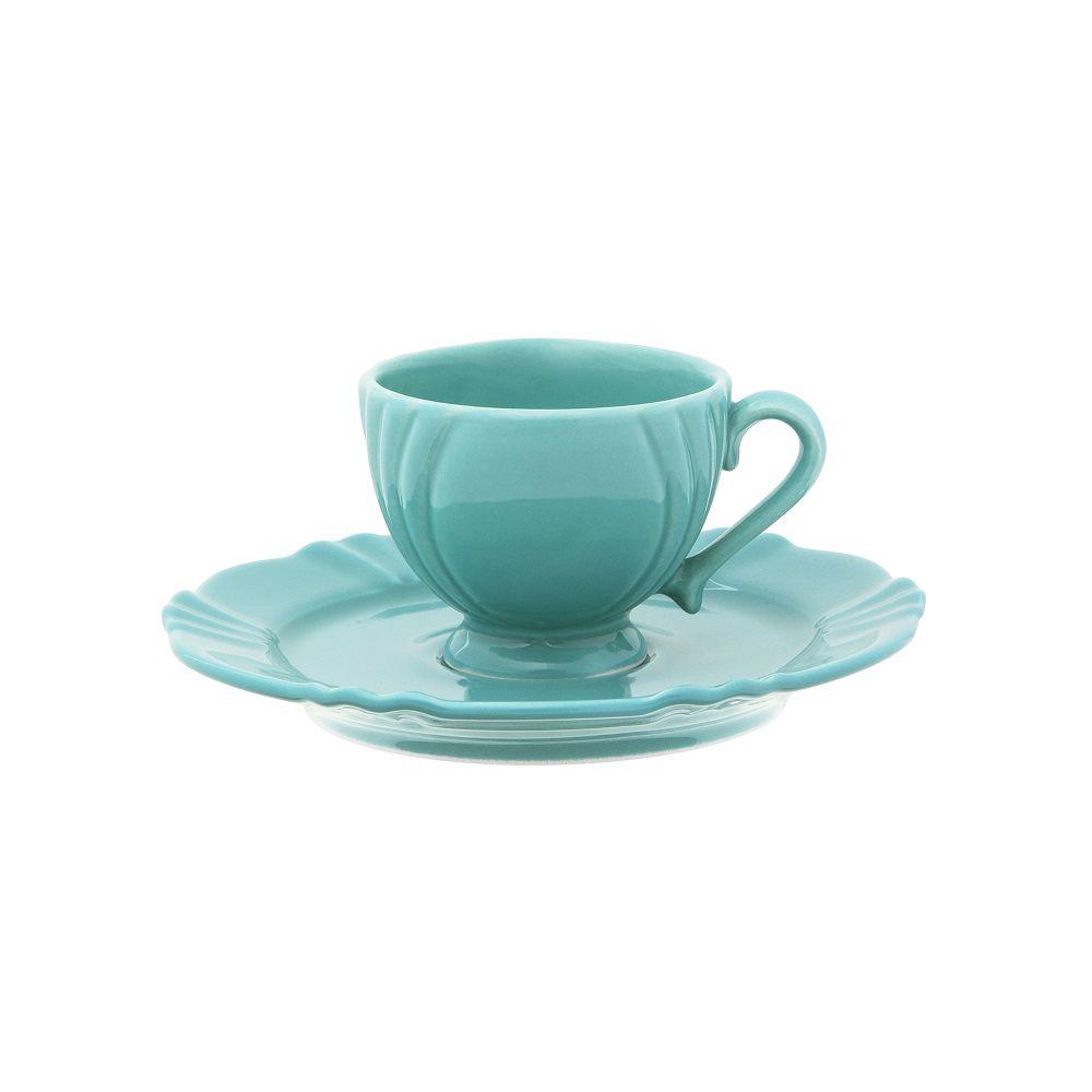 Aparelho de Jantar Chá e Café 42 Peças Porcelana Soleil Dreams Oxford