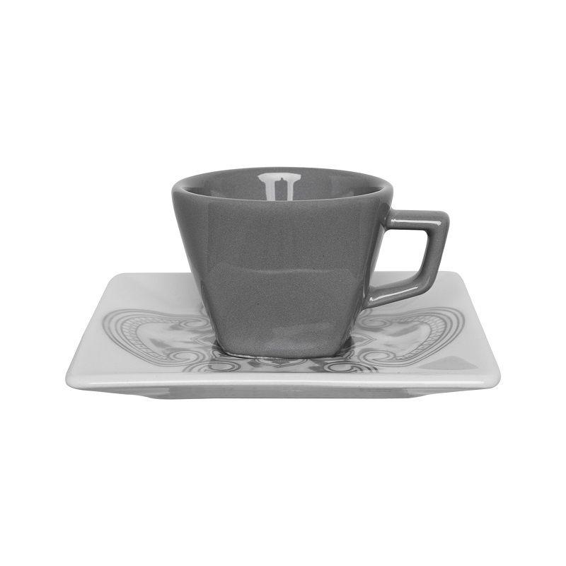 Aparelho de Jantar Chá e Café 42 Pçs Porcelana Pantheon Oxford