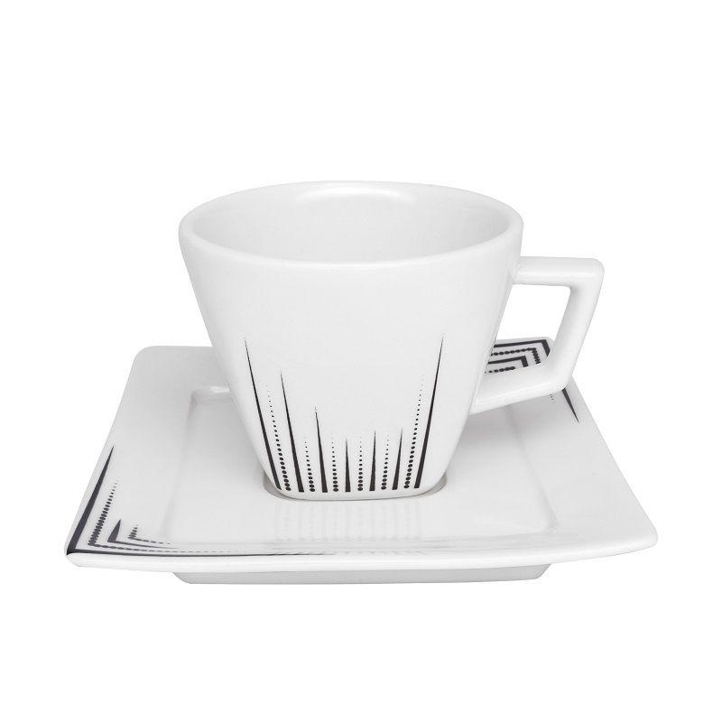 Aparelho de Jantar e Chá 20 Peças Porcelana Nara Venue Oxford