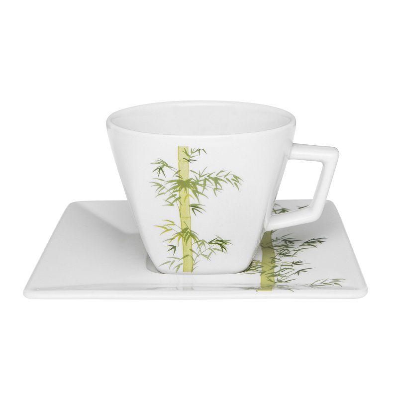 Aparelho de Jantar e Chá 30 Peças Porcelana Quartier Bamboo Oxford