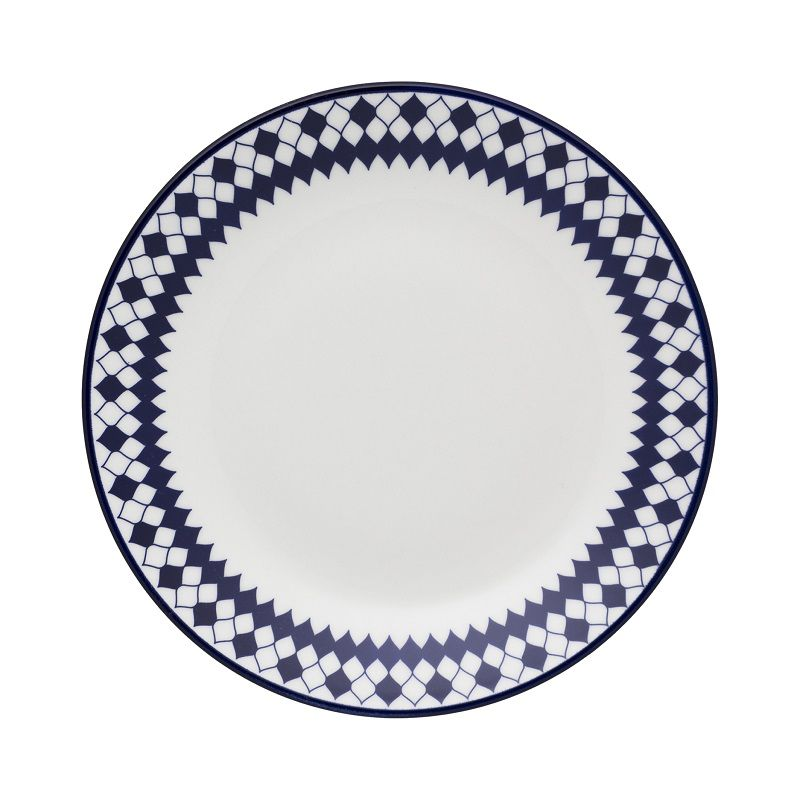 Aparelho de Jantar e Chá 30 Peças Porcelana Chess Oxford