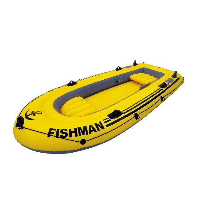 Barco Fishman 350 com Remo e Inflador - MOR 1854