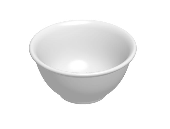 Bowl Buffet Branco 800ml Melamina Haus 50301/007