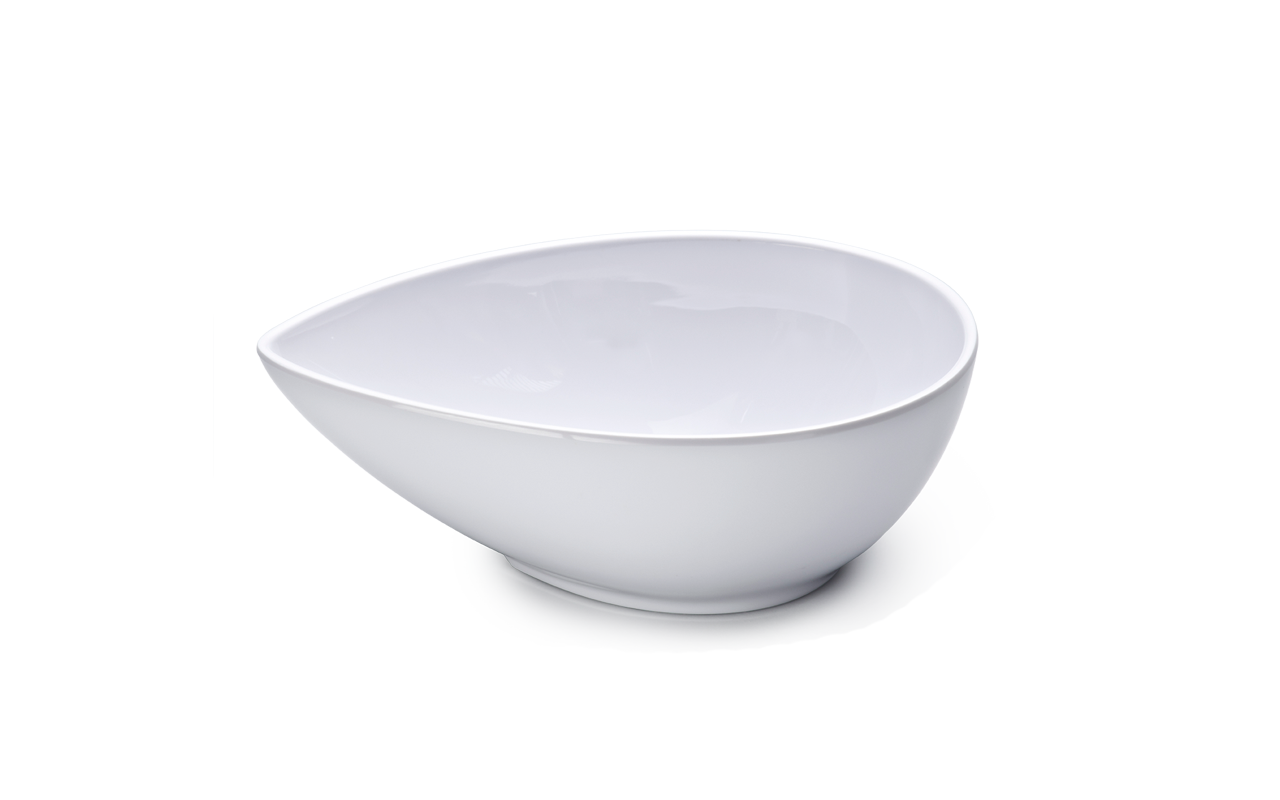 Bowl Gota Branco 800ml Melamina Haus 51201/002