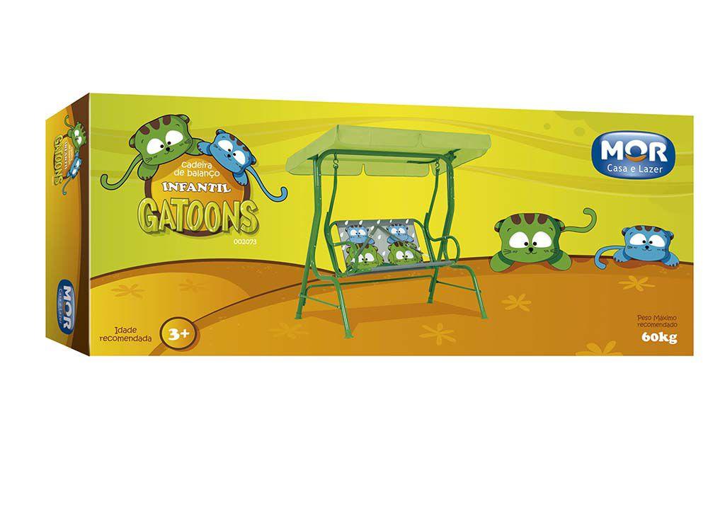 Cadeira de Balanço Gatoons - MOR 002073