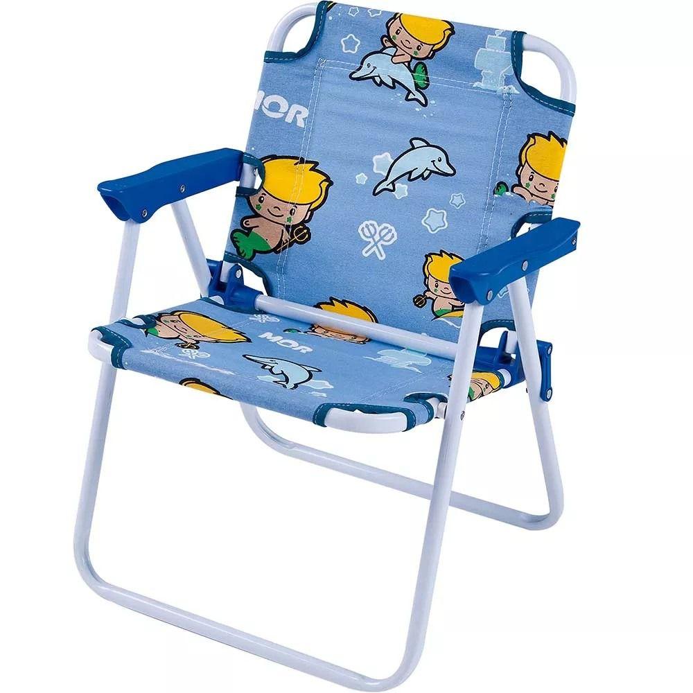 Cadeira Infantil Atlantis Maremoto Azul - MOR 002034