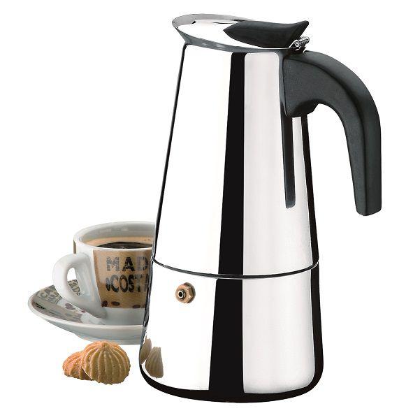 Cafeteira Aço Inox Para 6 Xícaras Verona Brinox - 2183/100