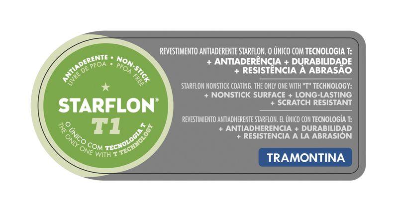 Caldeirão De Alumínio Antiaderente 2,0l 16cm Tramontina Paris - 20530/716