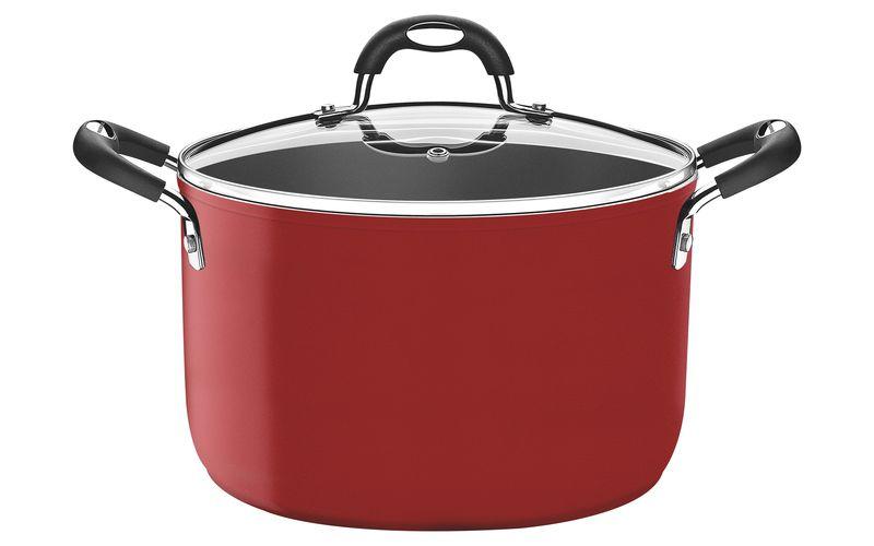 Caldeirão Vermelho Alumínio Antiaderente Starflon T3 24cm 6,7L Mônaco - Tramontina - 20862/724