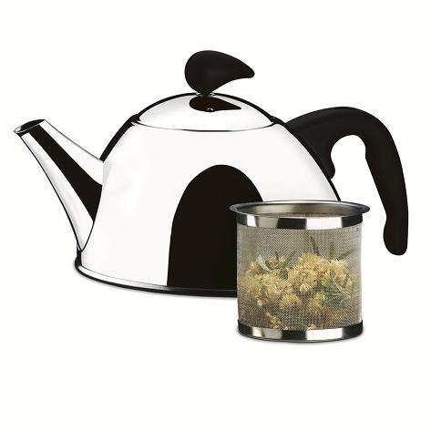 Chaleira Aço Inox Para Chá Com Coador Verona 1L Brinox - 2153/100