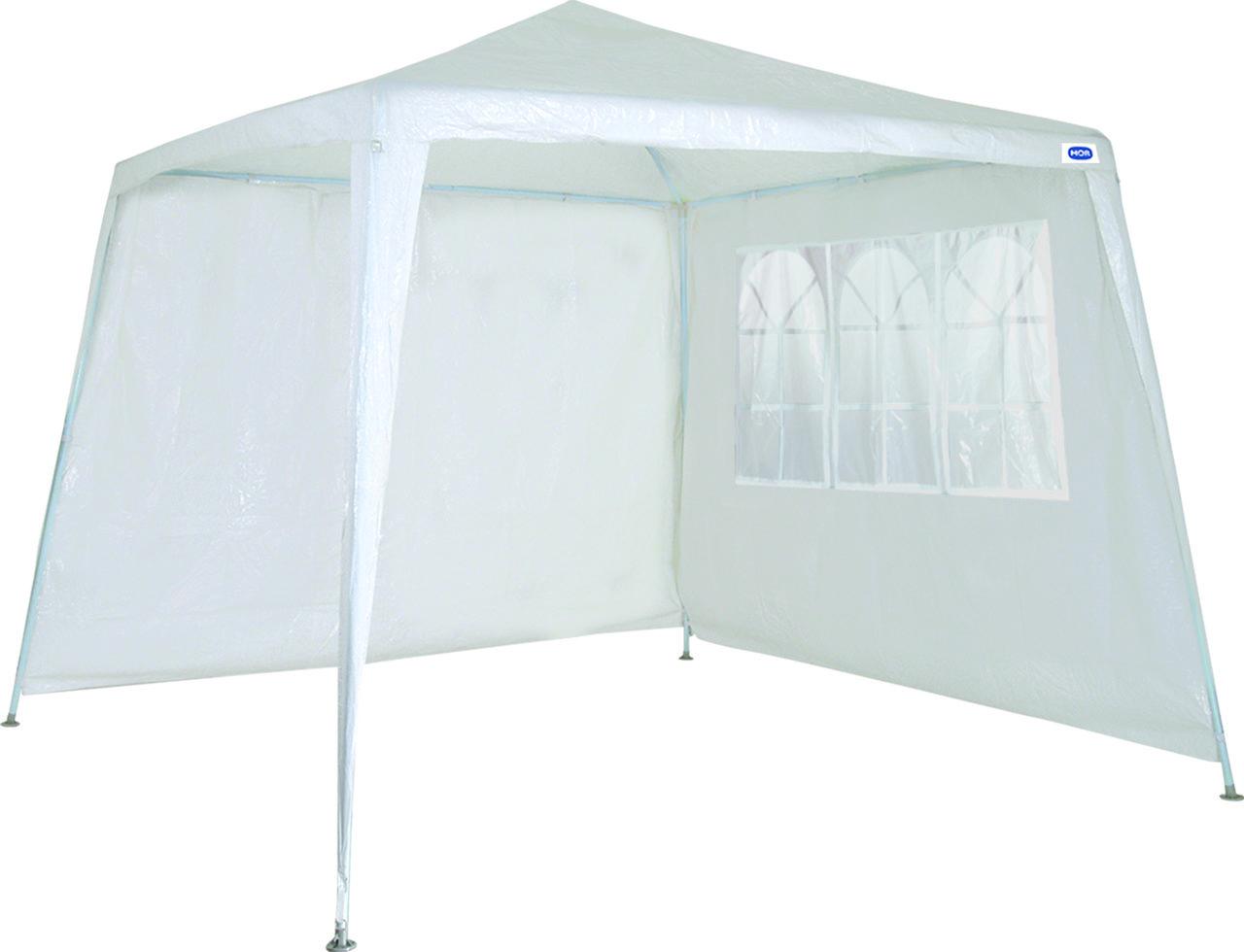 Conjunto Parede Para Gazebo 2,4m x 3m Ráfia Branco MOR - 003540