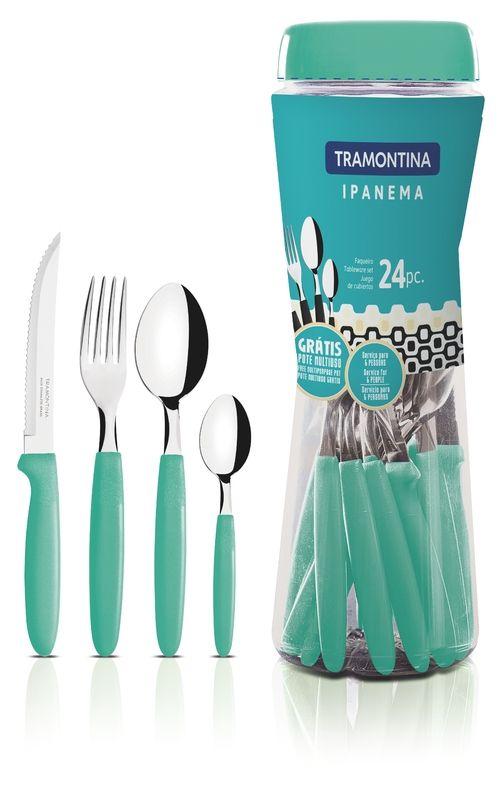 Faqueiro Tramontina Ipanema 24 Peças Verde 23399/291