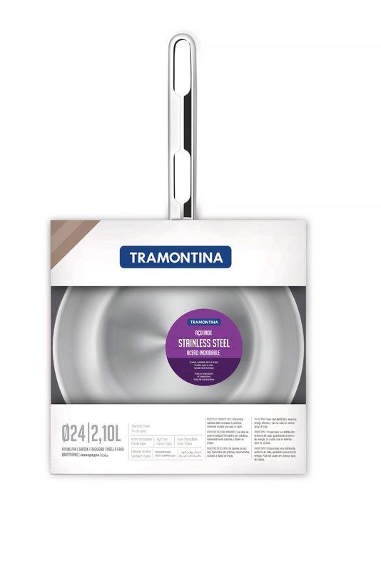 Frigideira Aço Inox Fundo Triplo Tramontina 24cm 2,10l Allegra - 62666/240