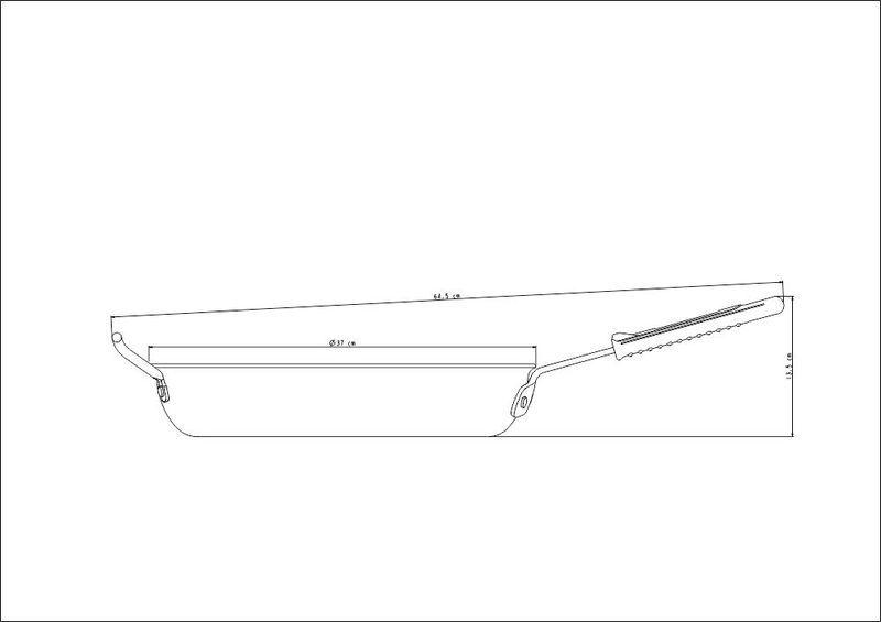 Frigideira Profissional Em Alumínio 36cm Tramontina - 20833/036