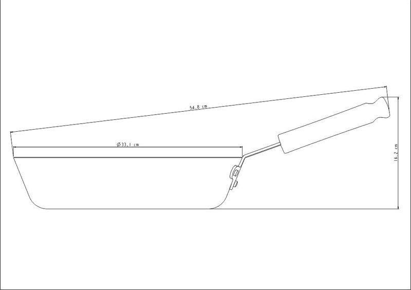 Frigideira Profissional Funda Em Alumínio 32cm 5L Tramontina - 20886/032