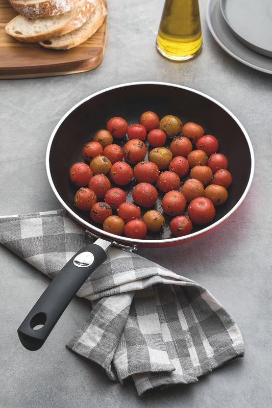 Frigideira Vermelha Em Alumínio Antiaderente Starflon T3 28cm Mônaco Tramontina - 20850/728