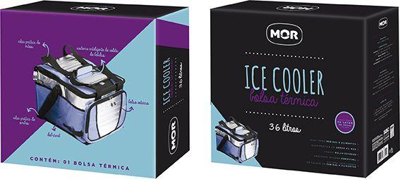 Ice Cooler 36 Litros 1 Divisória - MOR 3622
