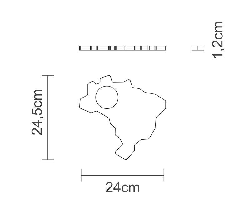 Kit Caipirinha Brasil Tramontina 10239/382