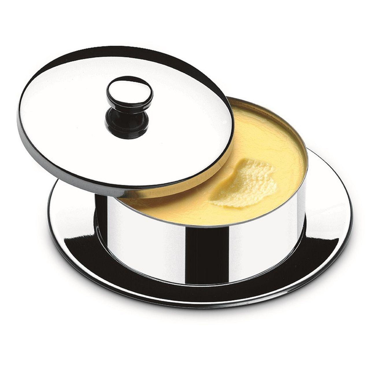 Kit Conjunto Para Frios e Manteigueira Aço Inox 5 Peças Atina Brinox
