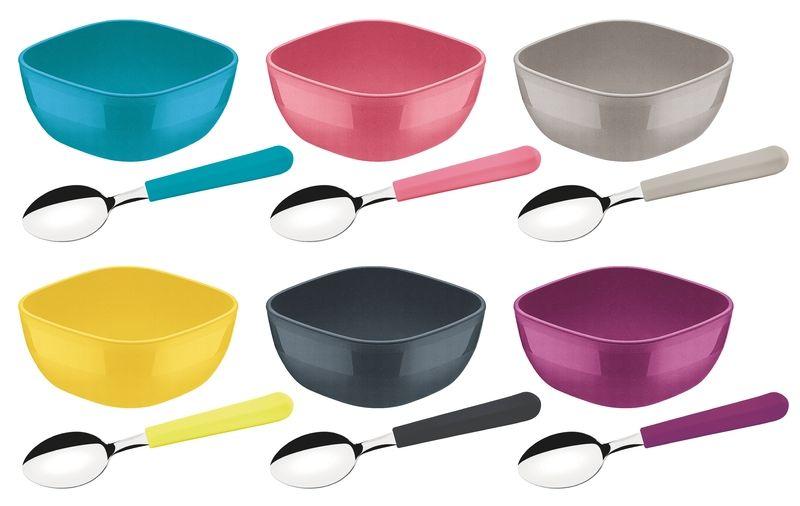 Kit Para Sobremesa Tramontina Mixcolor 12 Peças 25099/943