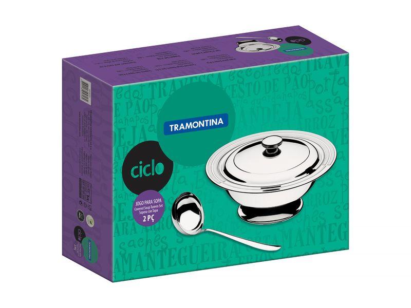 Kit Para Sopa Aço Inox 2 Peças Ciclo Tramontina - 64510/310