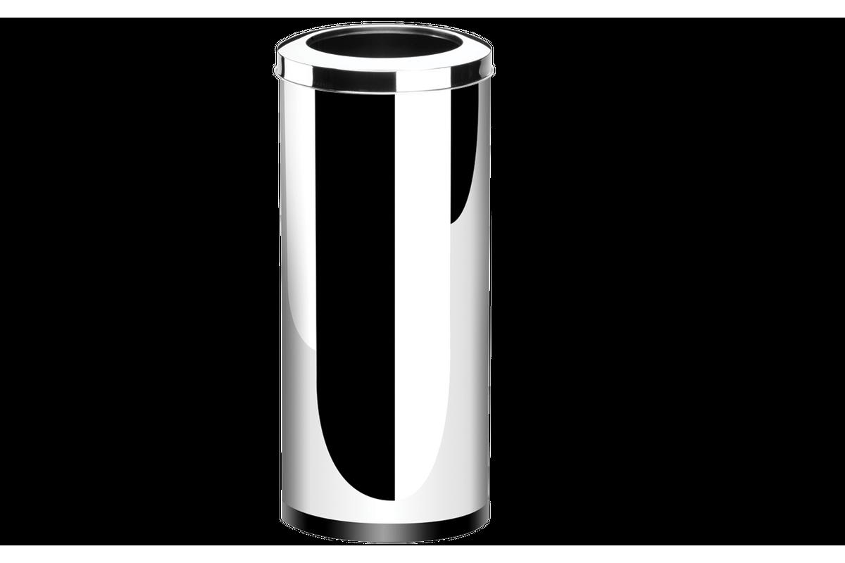 Lixeira Aço Inox Com Aro Decorline 30X70Cm 47L Brinox 3033/210