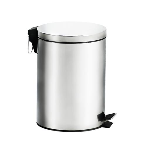 Lixeira Standard Inox 12L Com Pedal e Balde Brinox 3045/203