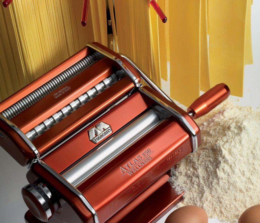 Maquina de Macarrão 3 Tipos de Massas Atlas 150 Red - Marcato