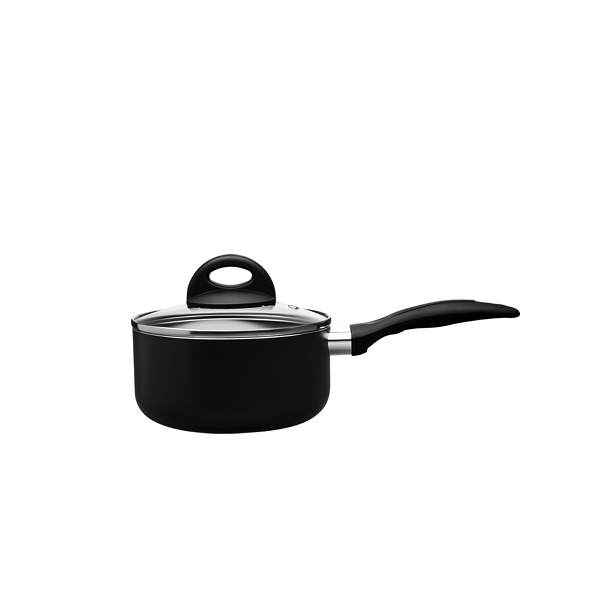 Panela Ceramic Life Smart Plus Preto 16Cm 1,25L Brinox - 4791/334