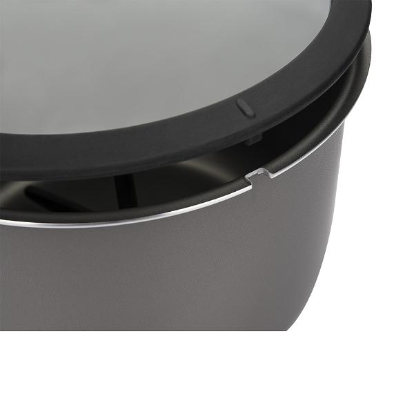 Pipoqueira Alumínio Antiaderente Pic Poc Prata 5,5L Brinox - 7100/154