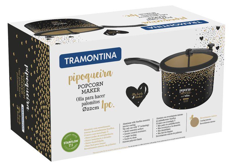 Pipoqueira Tramontina Coleção My Lovely Antiaderente 22Cm - 27807/034