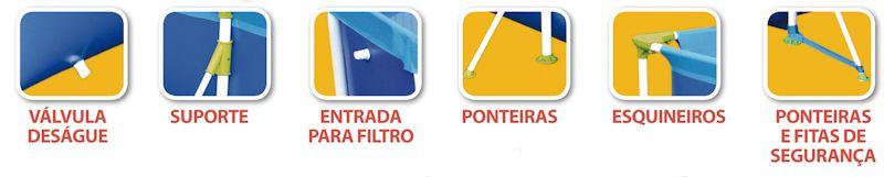Piscina 6.200L Premium - MOR 1025