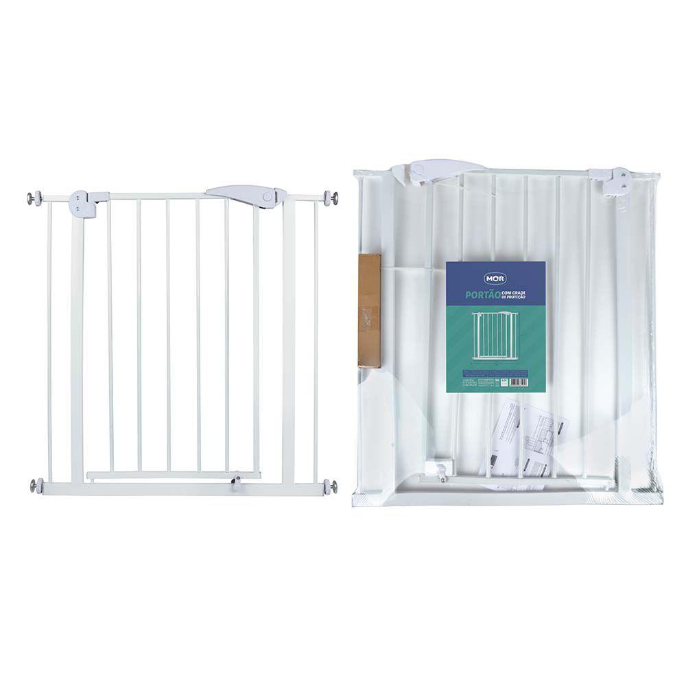 Portão com Grade de Proteção 74cm x 3,5cm x 79cm - MOR 6191