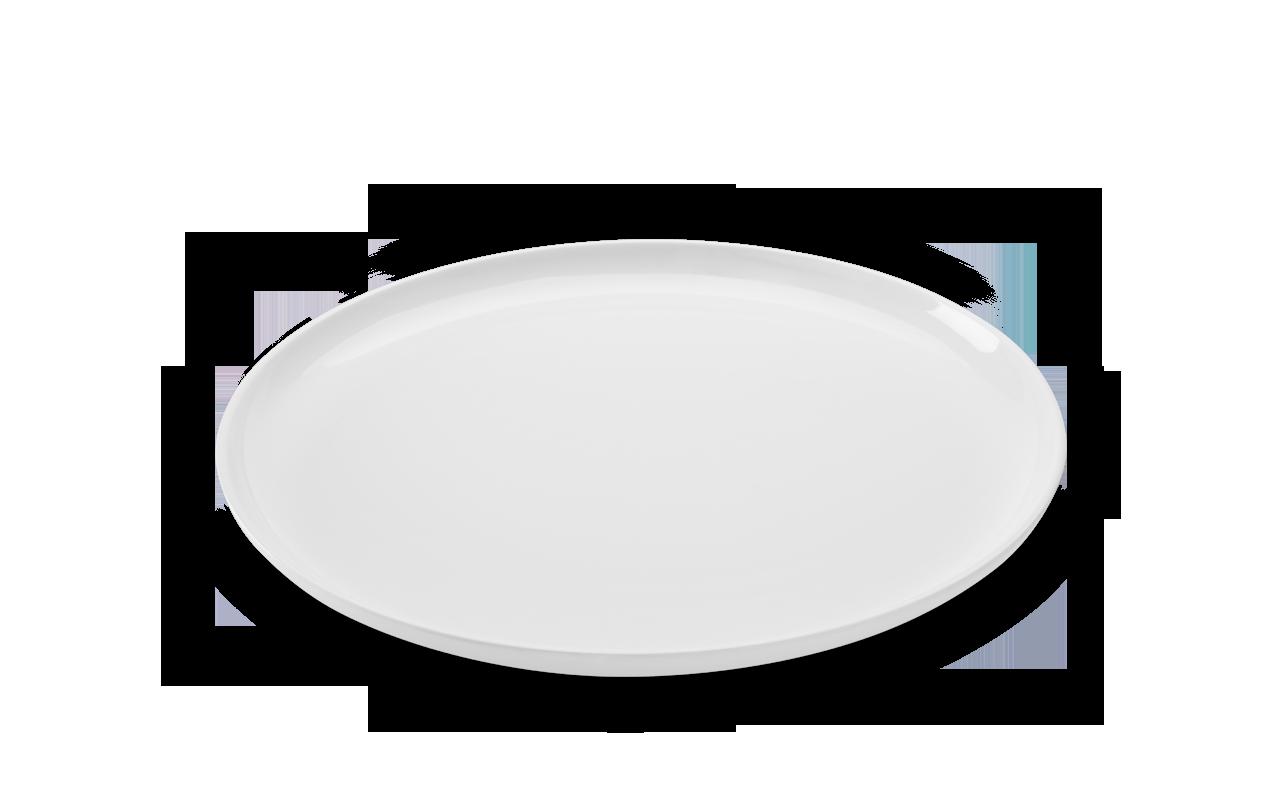 Prato Raso Sauce Branco 28Cm Melamina Haus 51401/002