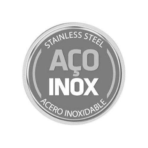 Rechaud Banho-maria redondo em Aço Inox com Tampa de vidro Tramontina 61049/000