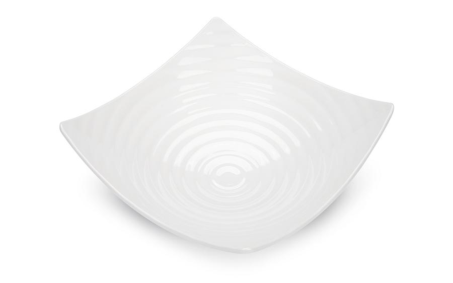 Saladeira Circles Branca 32Cm 3,5L Melamina Haus 50601/001