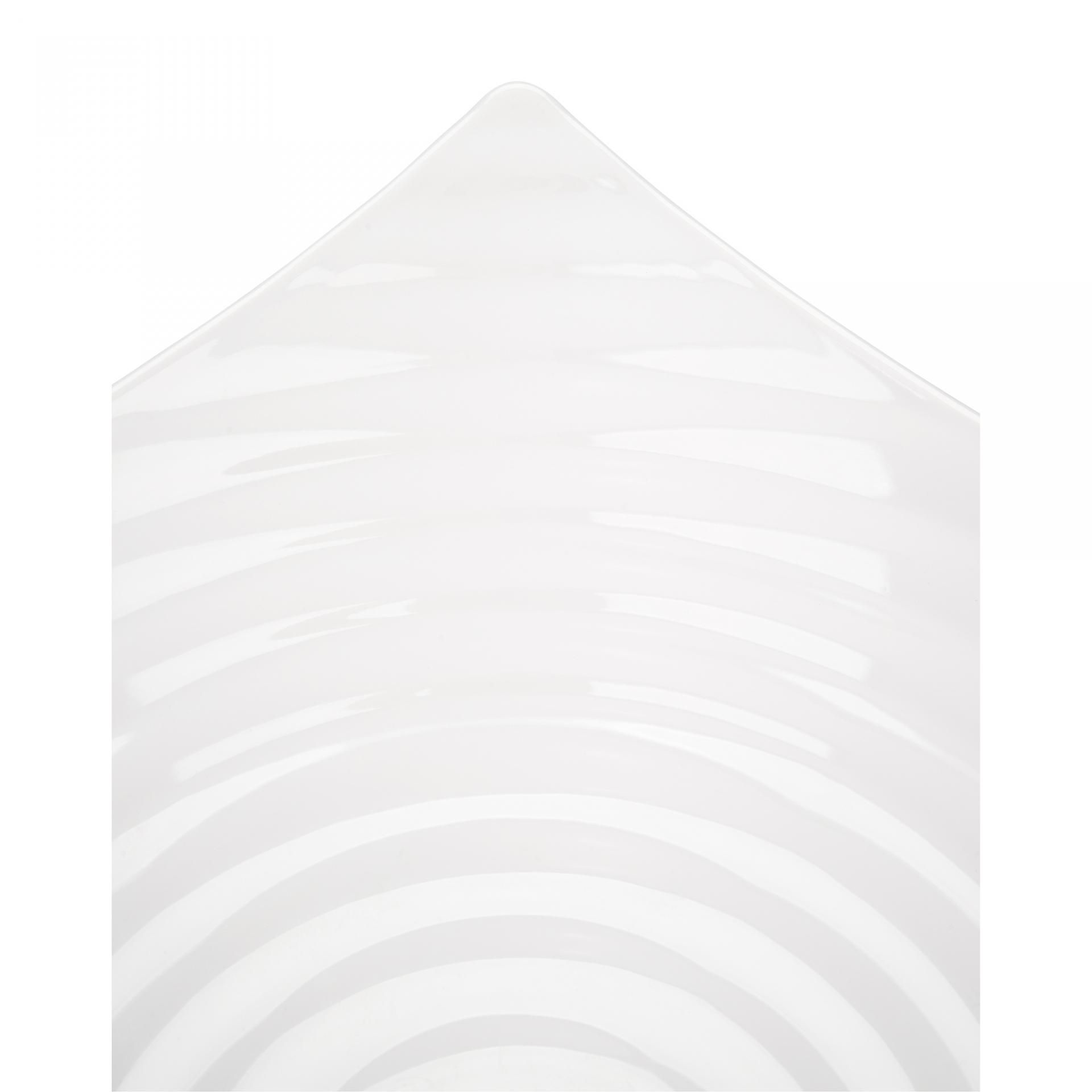 Saladeira Circles Branca 35Cm 4,5L Melamina Haus 50601/002