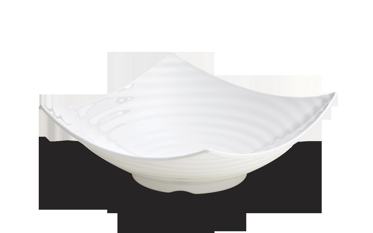 Saladeira Circles Branca 40Cm 6L Melamina Haus 50601/003