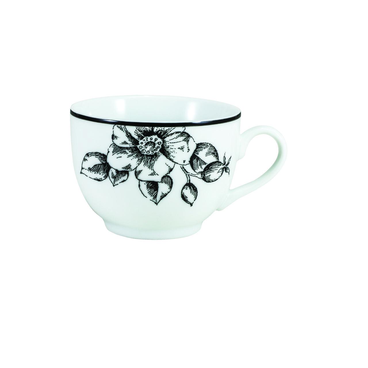 Serviço De Jantar Chá Café Em Porcelana Com 42 Peças Laura Schmidt