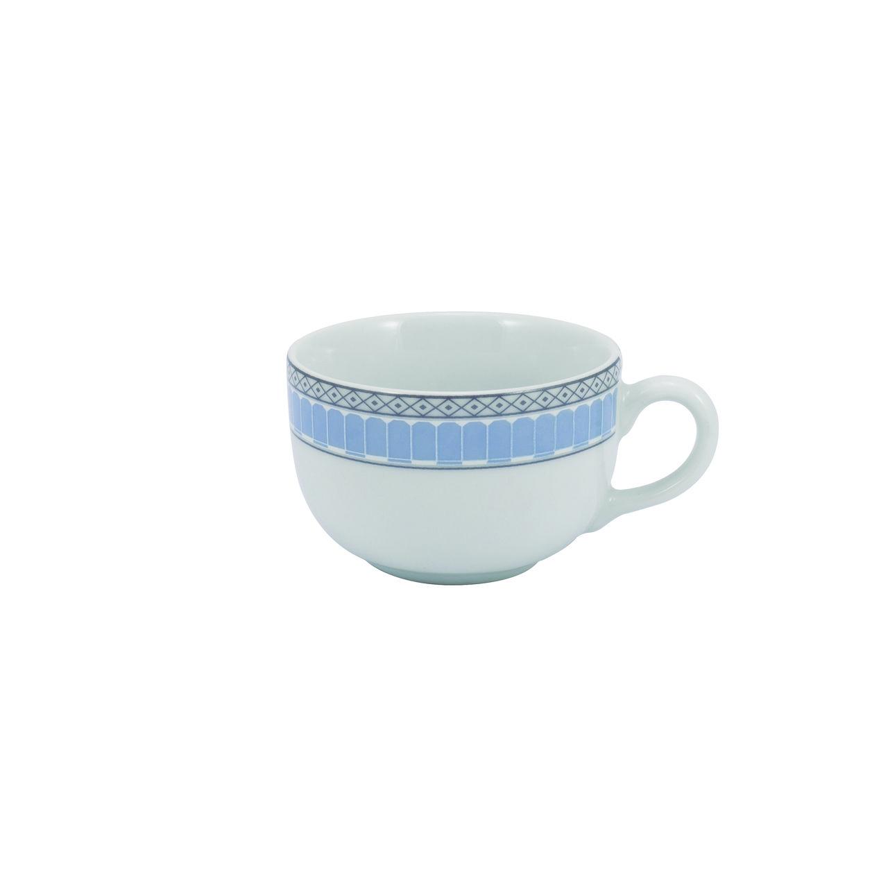 Serviço Aparelho De Jantar Chá e Café Em Porcelana 42 Peças Diva Schmidt