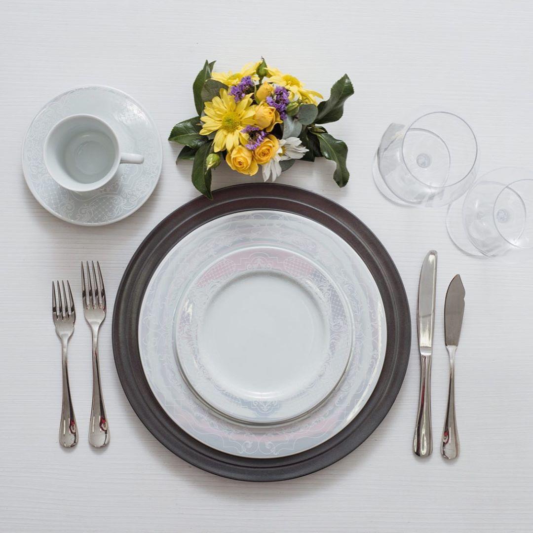 Serviço De Jantar E Chá 42 Peças - Arabesco Schmidt