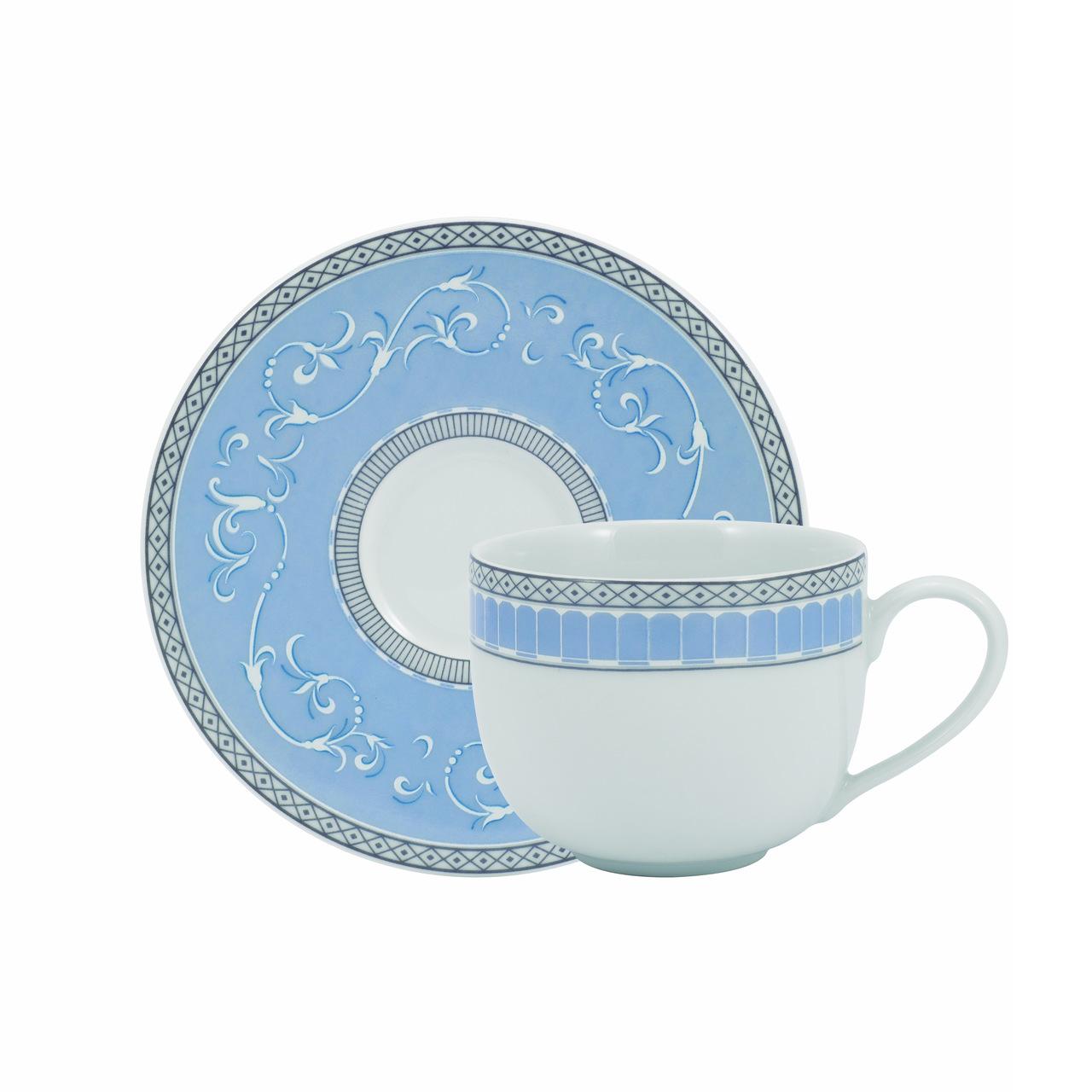 Serviço De Jantar E Chá Em Porcelana 30 Peças - Diva Schmidt