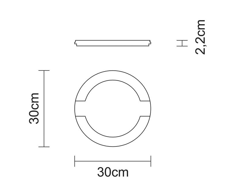 Mix Grill Redondo em Ferro Fundido Tramontina 30 cm - 10239/098