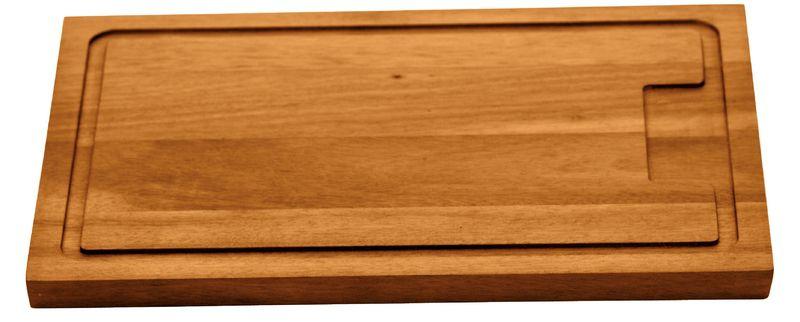 Tábua Para Churrasco Retangular Grande Madeira Muiracatiara 47 x 30cm Tramontina - 10057/100