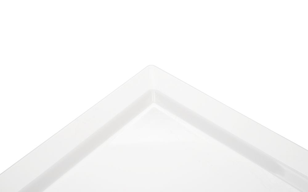 Travessa Gastronômica Branca 1/2 Melanina Haus 51101/002