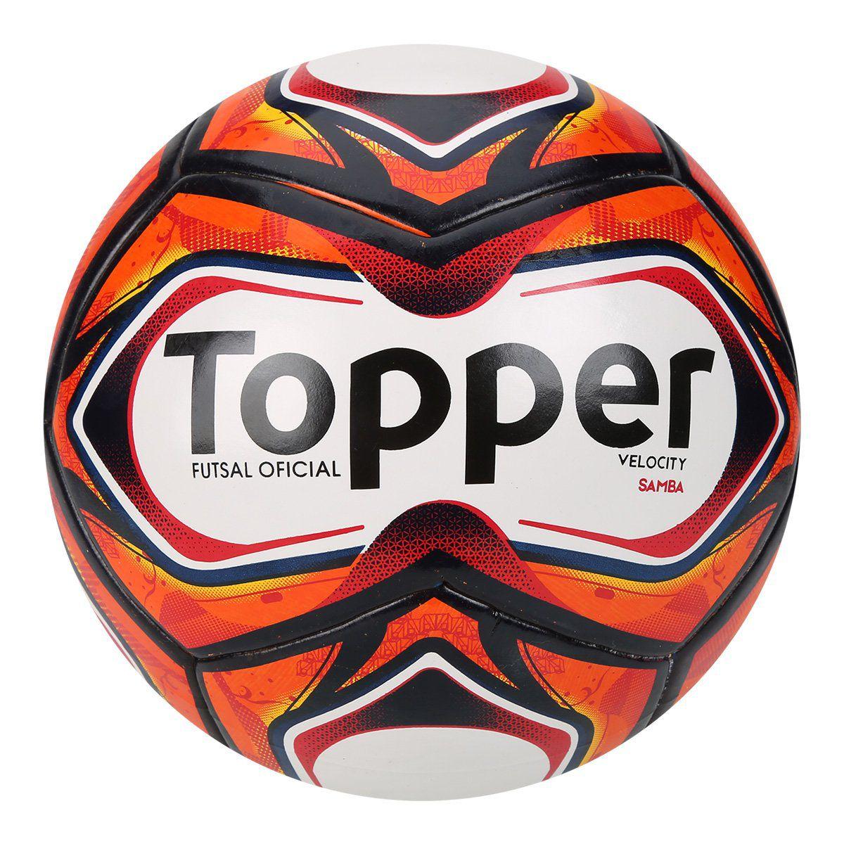 Bola Futsal Topper Velocity Samba Td1