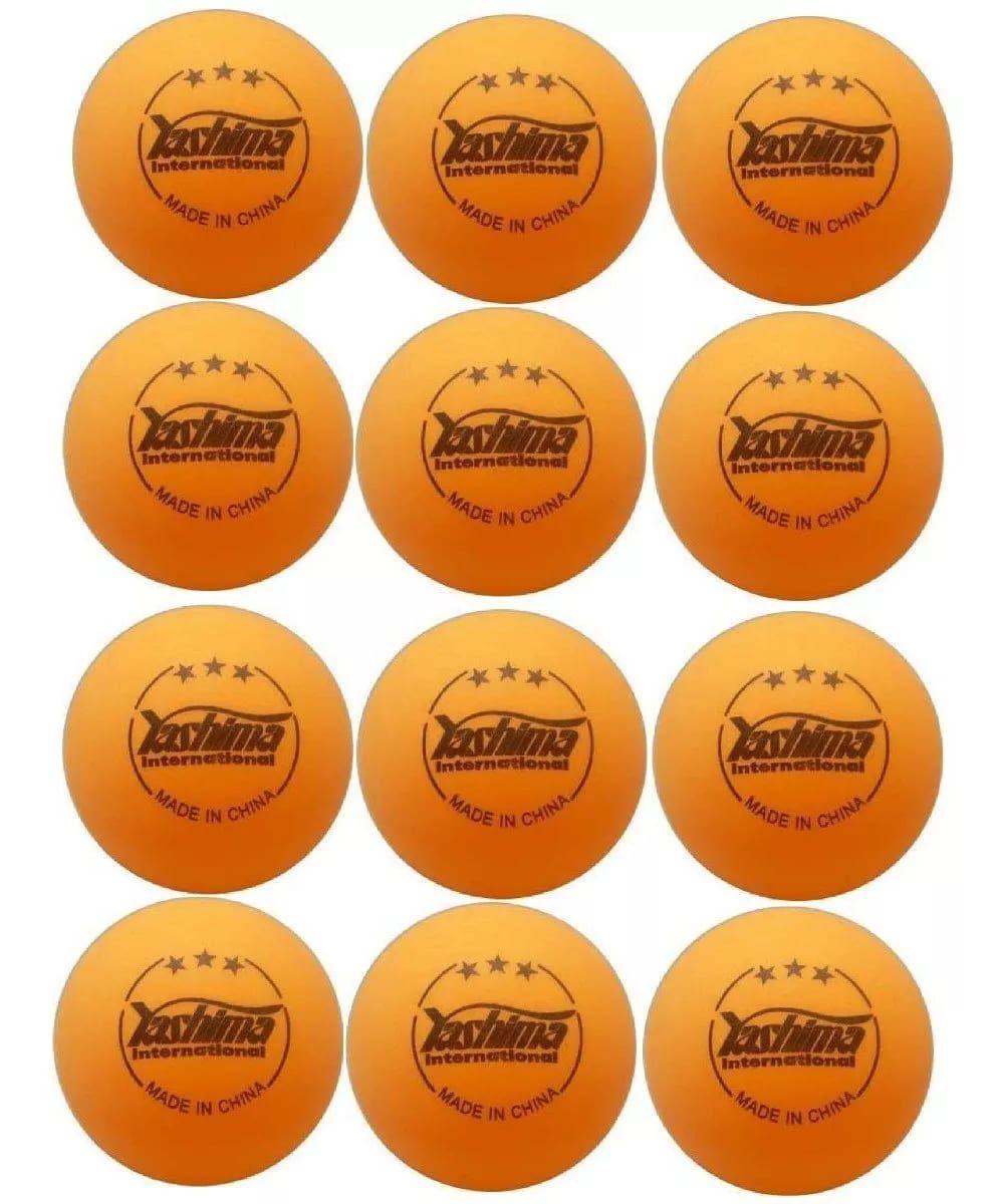 Bola Tênis de mesa Yashima 31013p 3 Estrelas Ping Pong