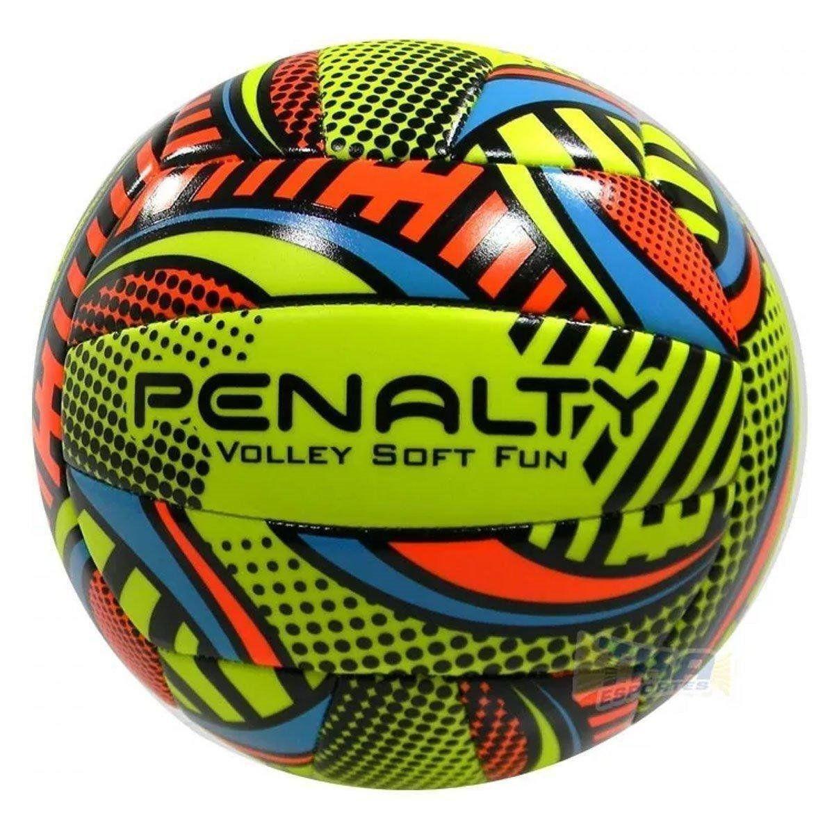 Bola de Volei Penalty 51078 Soft Fun Viii Oficial