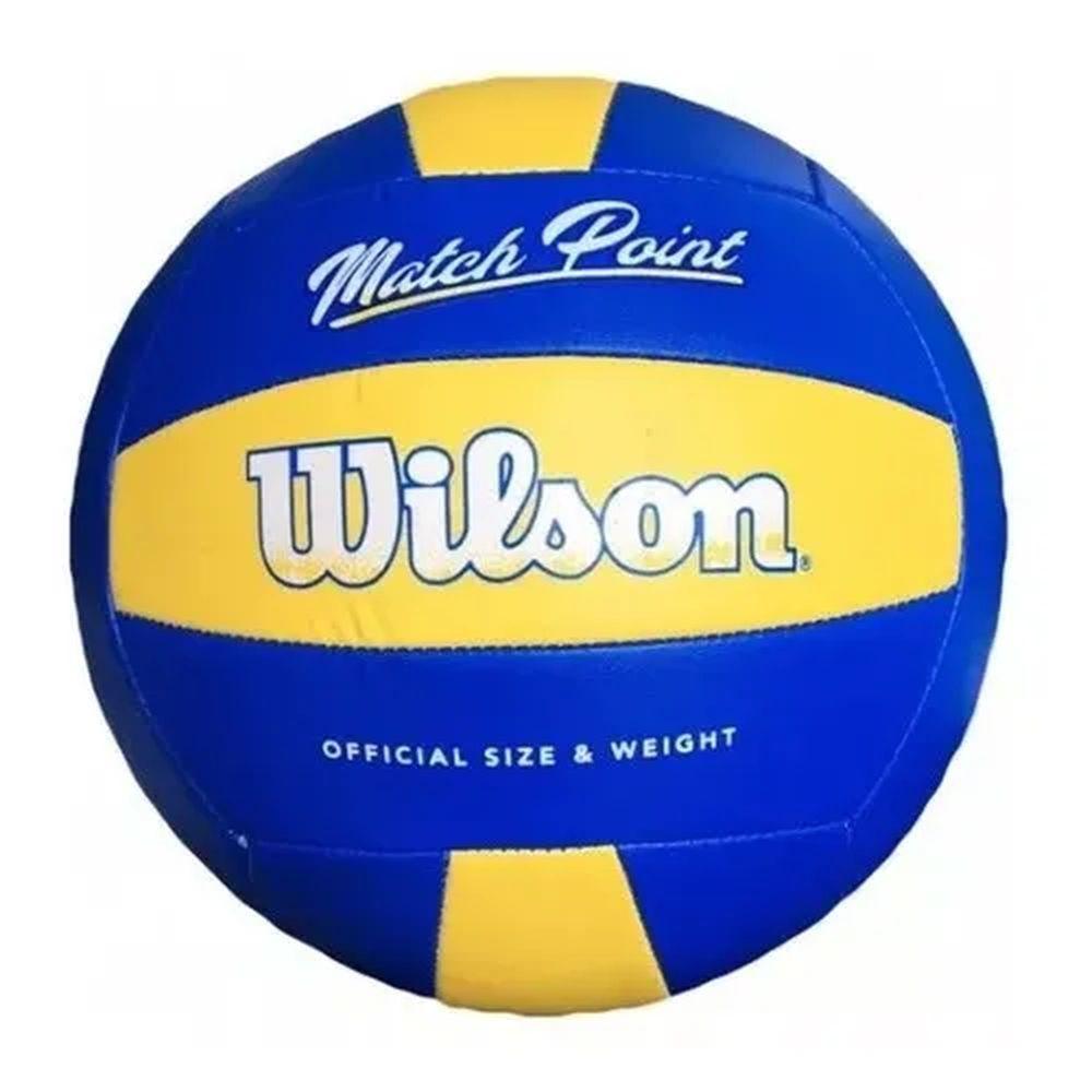 Bola Wilson Volêi Matchpoint amarelo azul